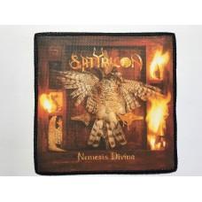SATYRICON patch printed Nemesis Divina