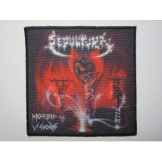 SEPULTURA patch printed Morbid Visions