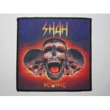 SHAH patch printed Beware