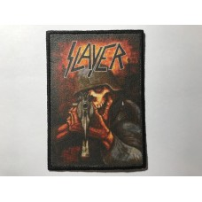 SLAYER patch printed
