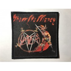 SLAYER patch printed Show No Mercy