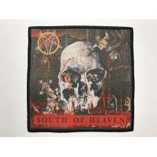 SLAYER patch printed South Of Heaven