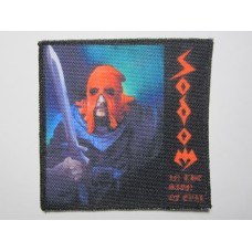 SODOM patch printed In The Sign Of Evil