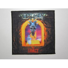 TESTAMENT patch printed The Legacy