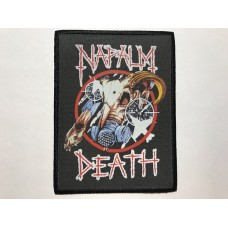 NAPALM DEATH patch printed