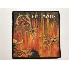 SLAYER patch printed Hell Awaits