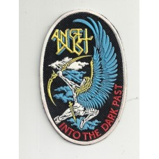 ANGEL DUST patch rubber Into The Dark Past