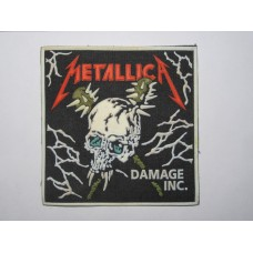 METALLICA patch rubber Damage Inc.