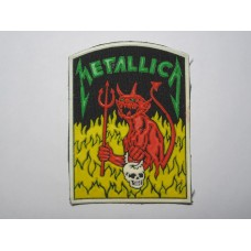 METALLICA patch rubber